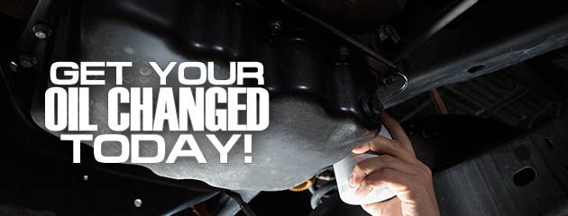 Get Your Oil Changed Today
