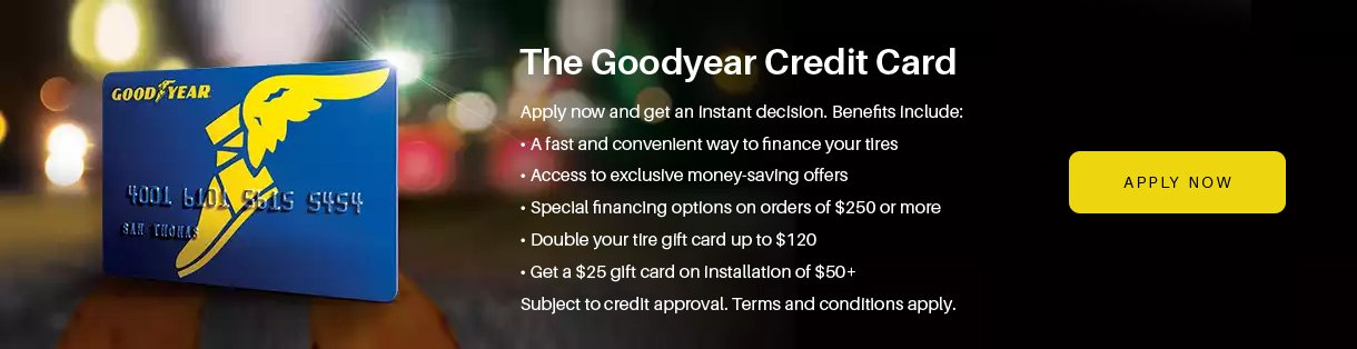 Goodyear Financing Available at Nevada Tire city in Las Vegas, NV 89102